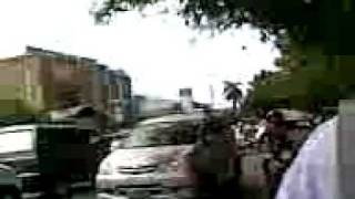 Jalanan Di Padang Setelah Gempa