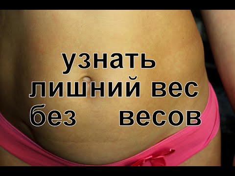 Лишний вес! Самый простой способ определить свой оптимальный вес.