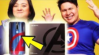 OPPO F11 Pro Avengers Limited Edition Unboxing - OMG! WAG NIYO TONG PALAGPASIN!