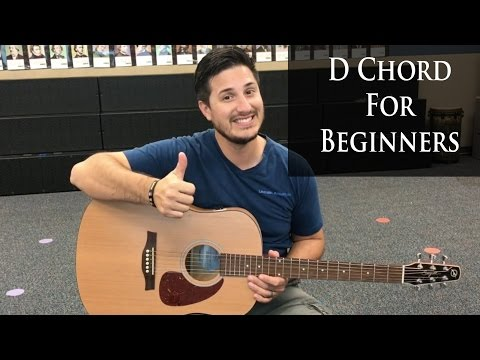 D Chord Guitar Tutorial for Beginning Guitar