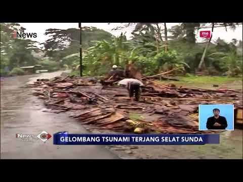 Pasca Dihantam Gelombang Tinggi, Inilah Kondisi Terkini di Lampung Selatan - iNews Siang 23/12