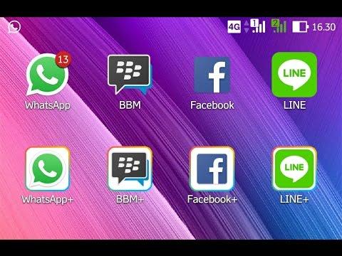 Video cara buat 2 akun dalam 1 Handphone (WhatsApp, BBM, line, dll) no root