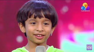 Top Singer Flowers | Richukuttan | Muthumani Thooval tharam