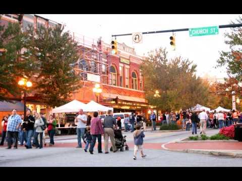 Video Anderson SC Downtown Tour
