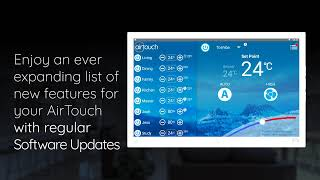 Updating AirTouch Software