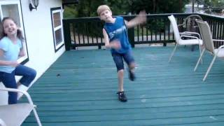 My Little Brother Dancing in NC