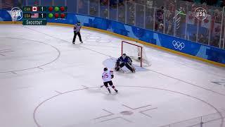 Team USA 2018 Playlist: The U.S. Women's Hockey Team Earns Olympic Gold