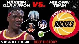 Hakeem Olajuwon and the Rockets beefed so hard he almost left Houston before they ever got a ring thumbnail