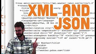 13.6: XML and JSON - Processing Tutorial