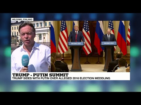 Trump-Putin summit: US lawmakers criticise Trump over election meddling comments
