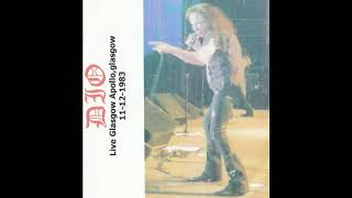 DIO live in Glasgow Apollo, 11.12.1983 (Shame On The Night)