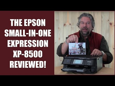 Epson Small-In-One Expression XP-8500 Color Photo Printer — REVIEWED!