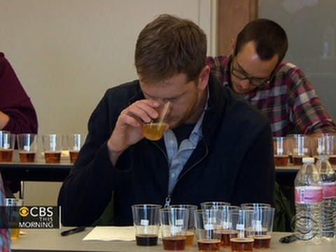 Bartenders, servers become certified beer experts - YouTube