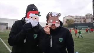 Concours de Noël : plateau U9 de la Garenne Colombes A.F.