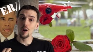 preview picture of video 'CUPIDRONE ET LES AMOUREUX de VÉRONE! OBAMA AU NATUREL!'