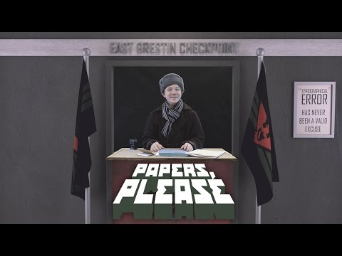 Papers, Please: Jen překlep