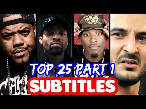 Top 25 Bars That Will NEVER Be Forgotten PART 1 SUBTITLES   SMACK URL Masked Inasense