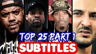 Top 25 Bars That Will NEVER Be Forgotten PART 1 SUBTITLES | SMACK URL Masked Inasense