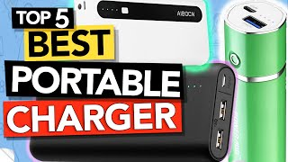 ✅ Top 5: Best portable chargers (power bank 2020 review)
