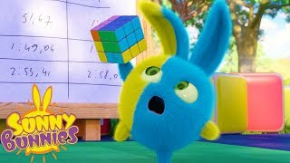 Cartoons For Children | SUNNY BUNNIES - RUBIKS CUBE | Funny Cartoons For Children