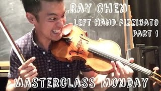 Ray Chen teaches Left-Hand Pizzicato