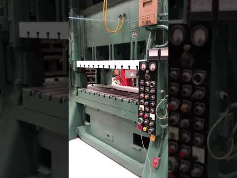 200 Ton MINSTER SC2-200-72-42 Hevi-stamper Straight Side Press