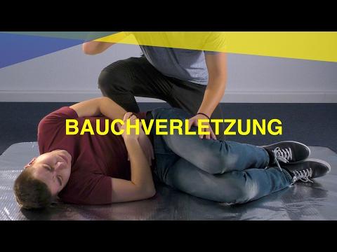 Bauchverletzung | M-A-U-S Erste Hilfe Kurs | Video Tutorial