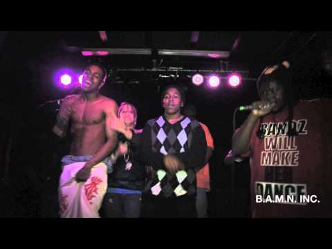 B.A.M.N. INC. Performs @ Hip-Hop Wishlist