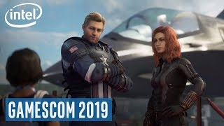 Intel's Partnership with Crystal Dynamics' Play Avenger | Gamescom 2019 | Intel Gaming