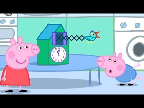 Peppa Pig en Español Episodios completos | ¡El reloj de cuco! | 1 Hour | Pepa la cerdita