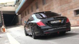 Brabus 850 S63 AMG 6.0 V8 Biturbo in Monaco | LOUD SOUND!