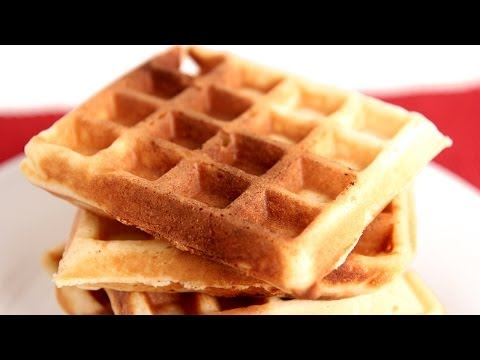 Belgian Waffles Recipe – Laura Vitale – Laura in the Kitchen Episode 782