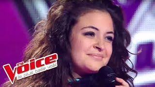 The Voice 2012 | Stéphanie Lamia - Donne moi le temps (Jenifer) | Blind Audition
