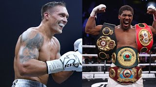 USYK REFUSES TO STEP ASIDE FOR AJ VS FURY FIGHT!