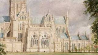 Salisbury Cathedral from the Bishop's Garden (Constable)
