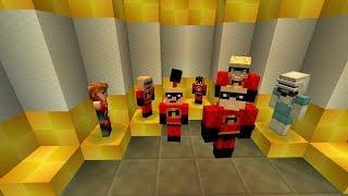 Супер Семейка в MineCraft : Шастик!