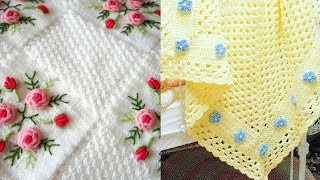 Most Beautiful Hand Knitted Crochet Baby Blanket Designs Patterns