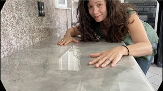How To: Epoxy Over Granite Countertops - Detailed Process