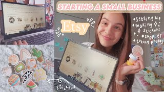 starting my own business in 2020 | how to start an etsy shop