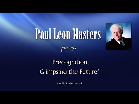 Precognition: Glimpsing the Future