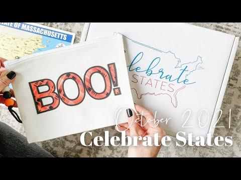 Celebrate States Unboxing October 2021