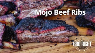 Mojo Beef Ribs  | HowToBBQRight