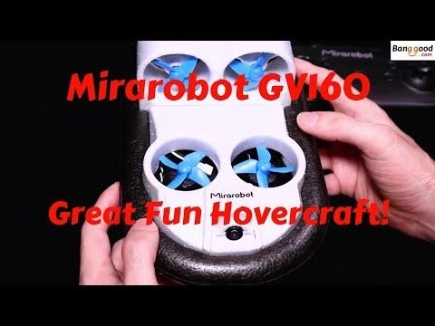 Mirarobot GV160 5.8ghz FPV Whoov,Hovercraft Review