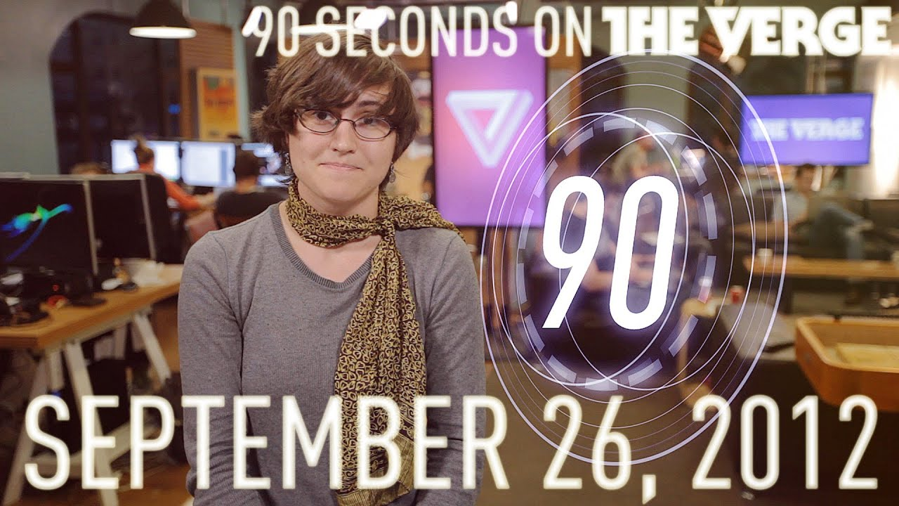 New Nook Tablets, Bad Piggies, and more - 90 Seconds on The Verge: Wednesday, September 26, 2012 thumbnail