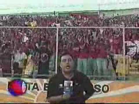 """""""el color de la semifinal 2003"""" Barra: Guardia Roja • Club: Tiburones Rojos de Veracruz"""