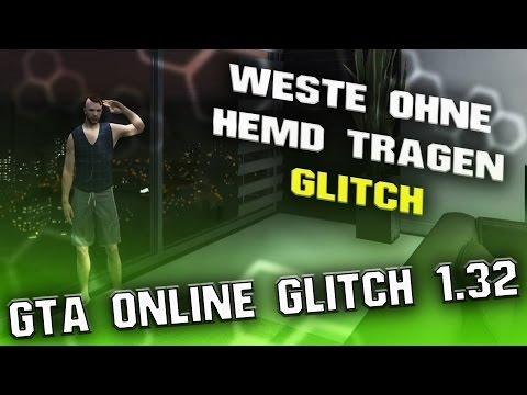GTA 5 ONLINE 1.32   WESTE OHNE HEMD TRAGEN GLITCH   PS4, XBOX ONE, PC   DEUTSCH/GERMAN