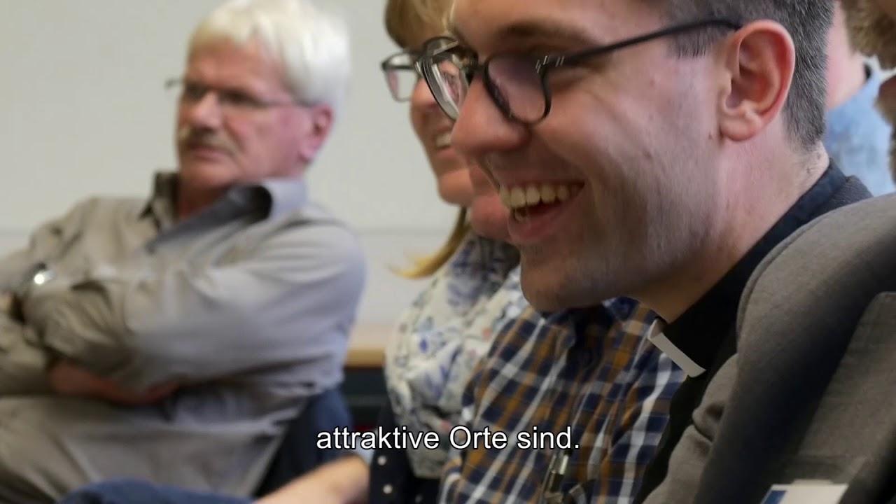 Mit Diakon Philipp Schmitz beim Themenforum in Viersen