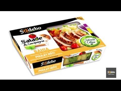 Sodebo- La salade Bahia