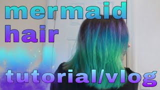 Mermaid Hair Vlog / Tutorial | Alex's Innovations