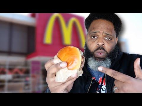 McDonald's Garlic White Cheddar Burger